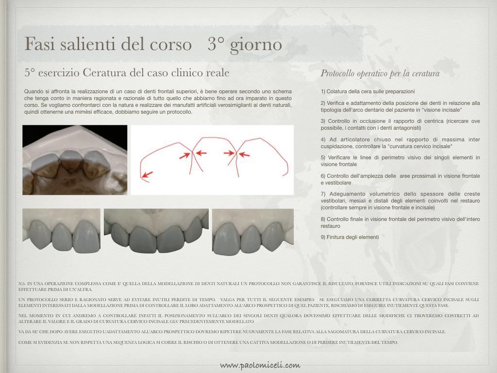 diapo jpeg CORSO FORMA E SCULTURA DENTAL
