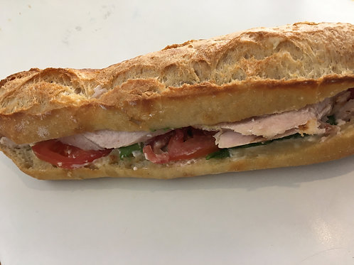 Sandwich Crudités (poulet, jambon, thon)