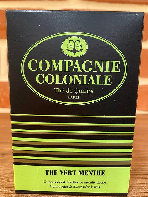 Boîtes de Thé 25 sachets berlingots Compagnie Coloniale