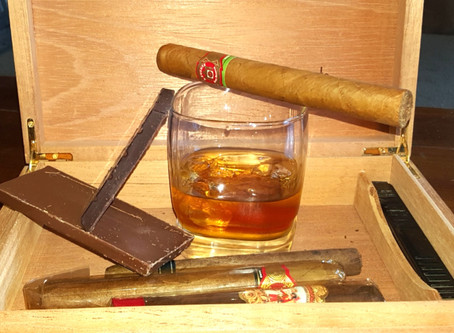 Bourbon, Cigars and Chocolate