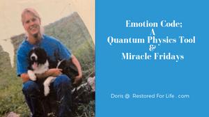 emotion code  girl holding dog