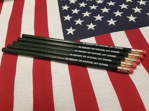 IN MEMORY OF Pencils