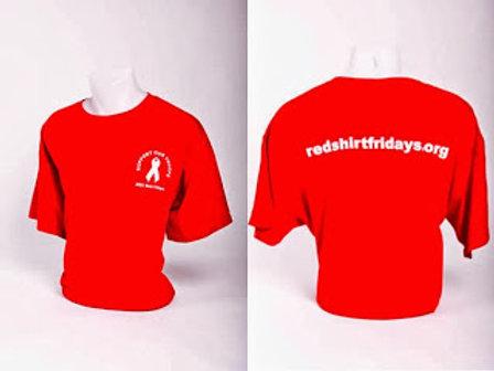 Red Shirt Friday T-Shirt - Silkscreened