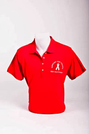 Red Shirt Friday Ladies' Polo - Embroidered