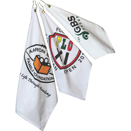"15"" x 18"" Golf Towel - 1 Color Imprint"