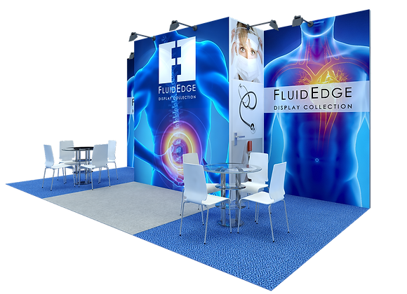 10x20 Modular Exhibit Booth AEFE52