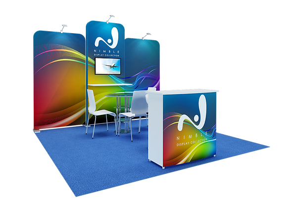 Tension Fabric Trade Show Exhibit Booth