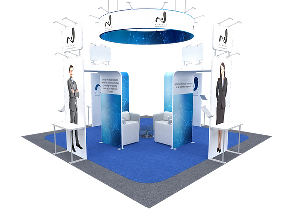 Tension Fabric Exhibit Trade Show Booth