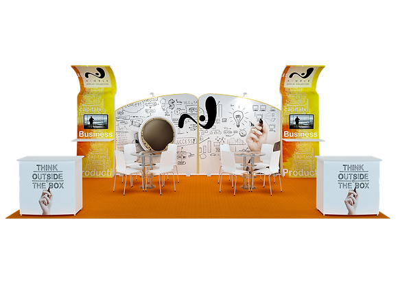 Tension FabricExhibit Trade Show Booth