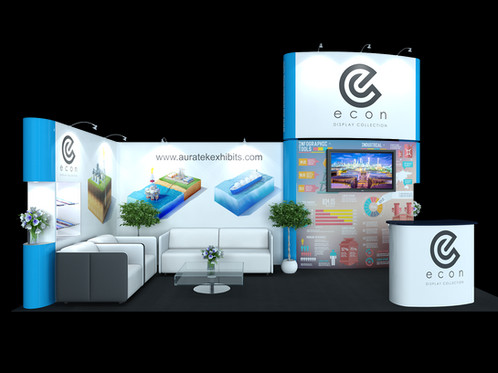 Pop Up Exhibit Trade Show Booth