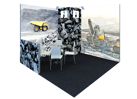 Modular Fabric Trade Show Exhibit Booth