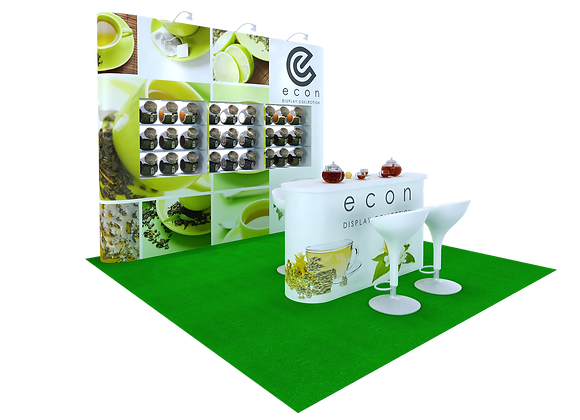 Pop-Up Exhibit Trade Show Booth