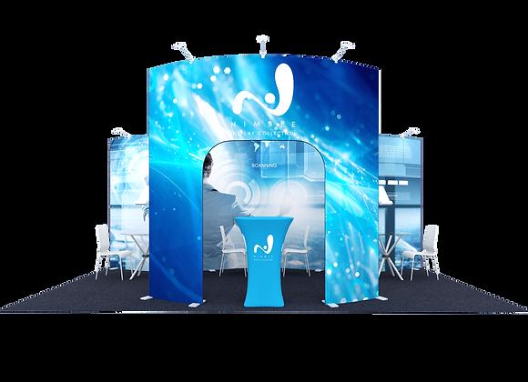 10x20 Tension Fabric Exhibit Booth (Self-Build) AENIM66