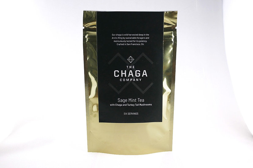 SAGE MINT TEA WITH CHAGA