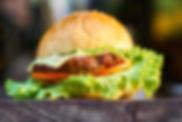 Hamburger mit Käse