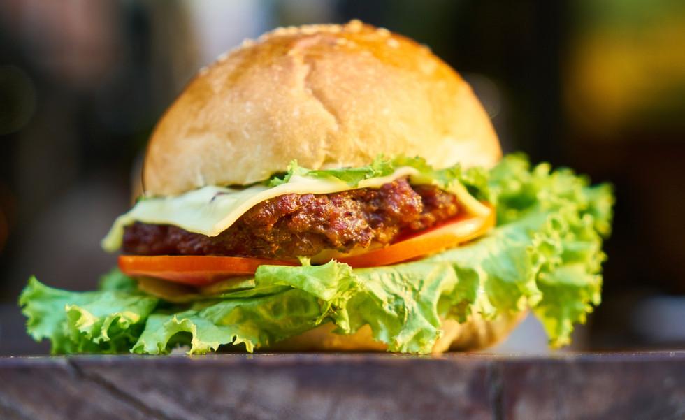 Hamburger met kaas