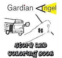 School bus safety coloring book- Gardian Angel