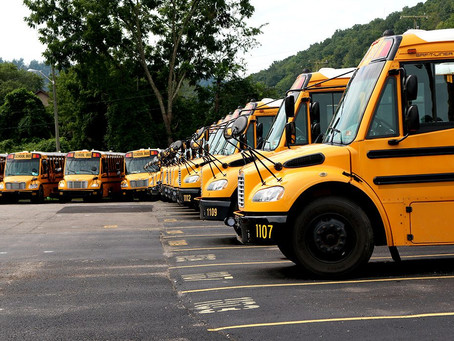 School Bus Technology preserved at the Smithsonian