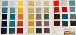 Woven fabric palette for AP30 Panels