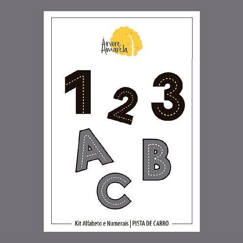 Kit Corrida ABC + Números PDF