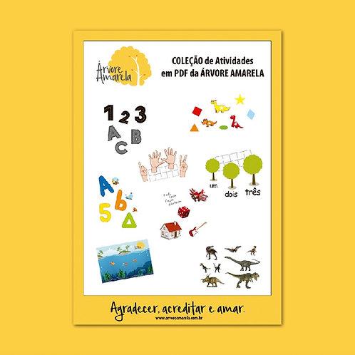 Coleção de Atividades em PDF da Árvore Amarela