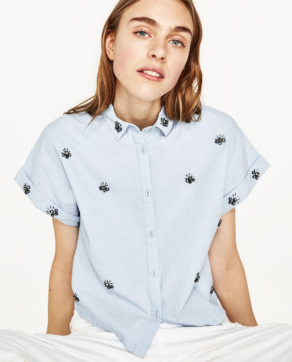 Gem Shirt from Zara