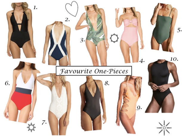 Top 10 Hottest One-piece Swimsuits for Summer