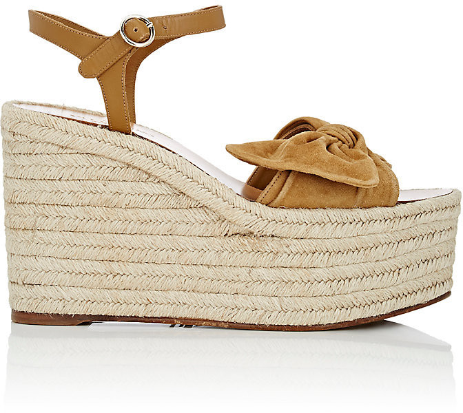 Tropical Bow Espadrille by Valentino from Davids Shoes