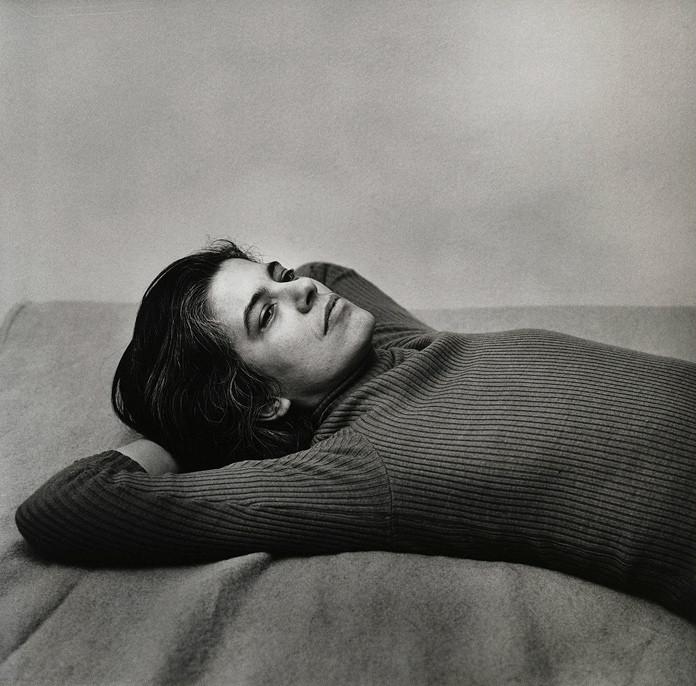 Susan Sontag by Peter Hujar, 1975
