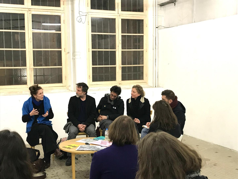 Tentative d'épuisement. Exercice de critique d'art participative et contributive, une proposition de Mickaël Roy, avec Fanny Lambert, et la complicité de Violaine Lochu.