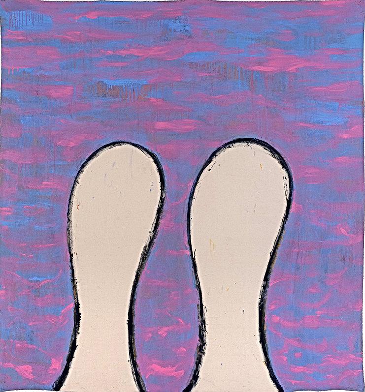 Big-big et Bang-bang 2010 acrylique sur