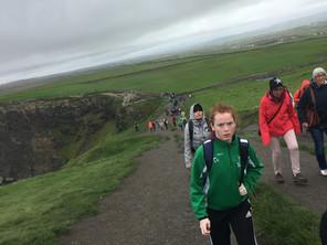 Transition Year Cliff Walk 2017