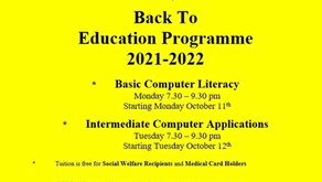 Back to Education Programme