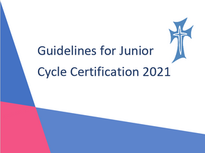 Junior Cycle Certification 2021