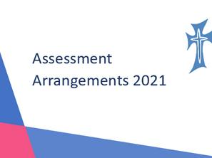 Assessment Arrangements for Exams 2021
