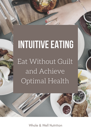 """Are you on a perpetual diet? Do you make certain foods """"off limits""""? Time to re-evaluate y"""