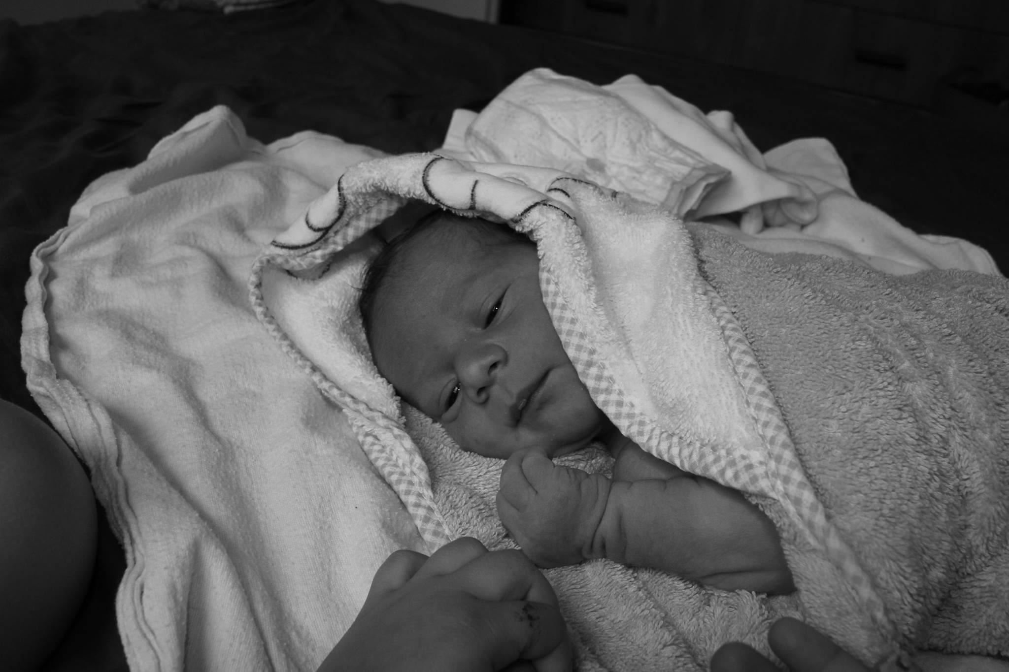 טיפול רגיש בתינוק