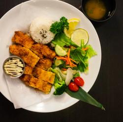 Katsu Set(Pork or Chicken Katsu)