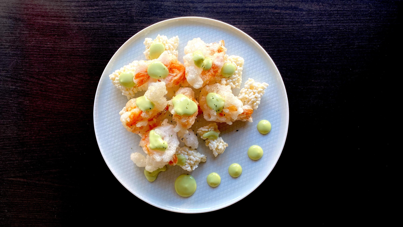 Wasabi Mayo Prawn