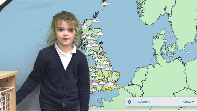 We are Weather Reporters!