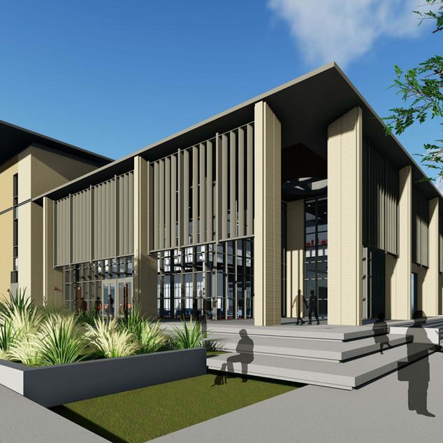 TAMIU Academic Building