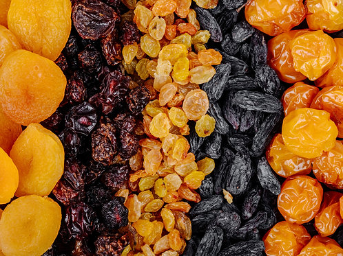 Choice of Dried Fruits