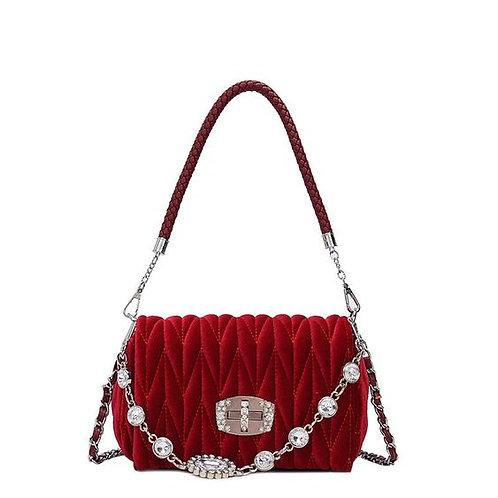 Lush Velvet Versa Handbag