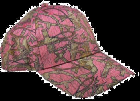CHRISTIAN CAMO ™ PINK CAP