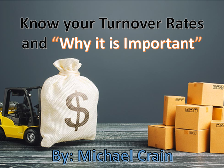 Do Inventory Turnover rates Matter?