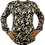 Thumbnail: CHRISTIAN CAMO BLACK LONG SLEEVE T-SHIRT
