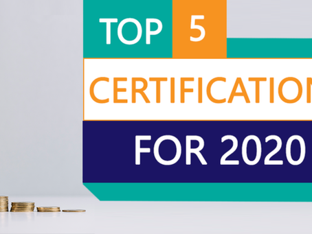 Top 5 IT Certifications For 2020
