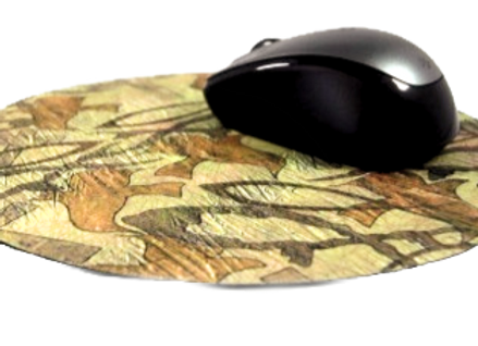 "CHRISTIAN CAMO 7 3/4"" RUBBER MOUSE PAD"