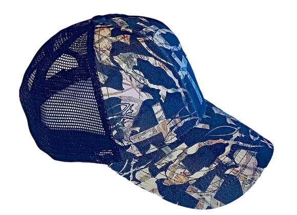 CHRISTIAN CAMO ™ Black Cap with 100% Mesh Back