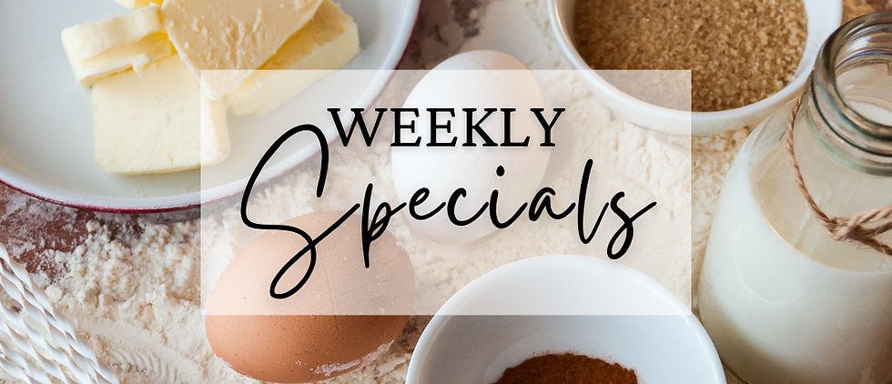 10/18 Weekly Special